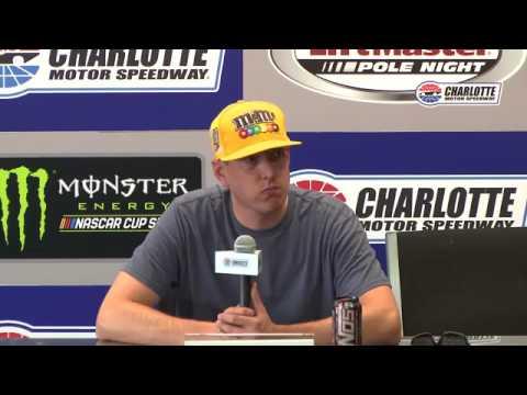 2017 NASCAR Charlotte Kyle Busch, Earnhardt Jr,  Ben Kennedy Pre Race Q&A