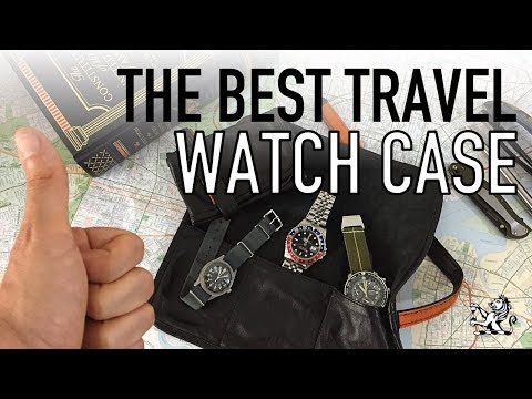 The Best Quality Traveling Case For A Small Watch Collection - GIAJ#9