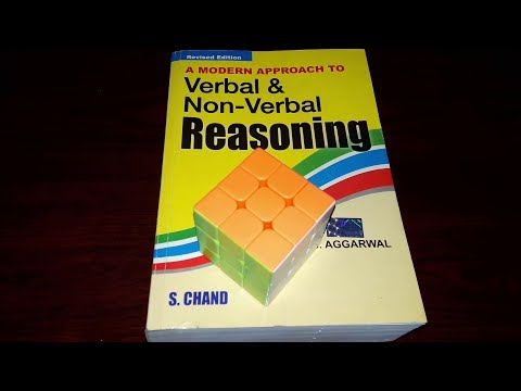 R.S. Aggarwal Verbal And Non Verbal Reasoning Book Review | Best Reasoning Book For All  Exams