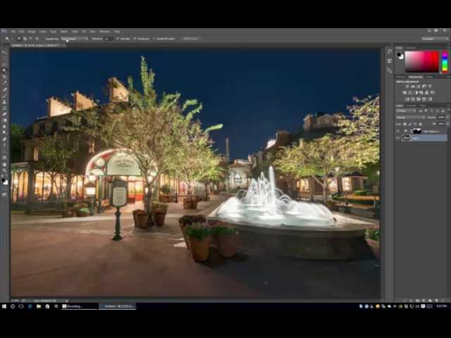 Masks & Selections in Photoshop - Walt Disney World Photo Editing