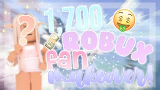 GIVING MY FAN A 1,700 ROBUX MAKEOVER! (did she like it..?) ✩   Roblox   Astra