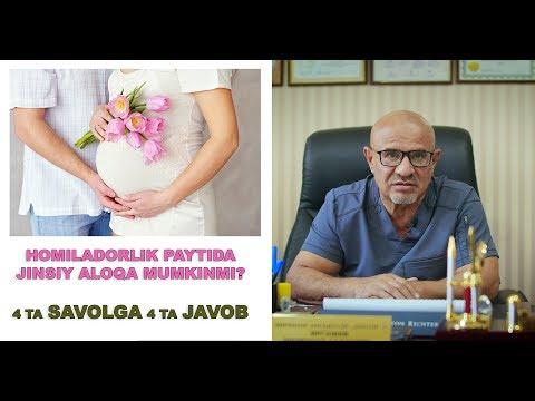 #123 DOKTOR D: HOMILADORLIK PAYTIDA JINSIY ALOQA. MUHIM SAVOLLARGA JAVOBLAR