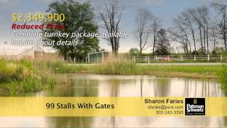 Equestrian Estate - Horse Farm for Sale - Camden/Wyoming, Delaware