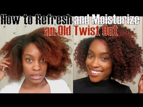 5 Ways To Style An Old Braid Twist Out Or A Failed Style