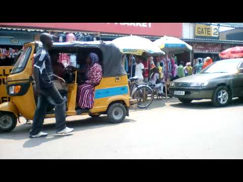 Burundi street life