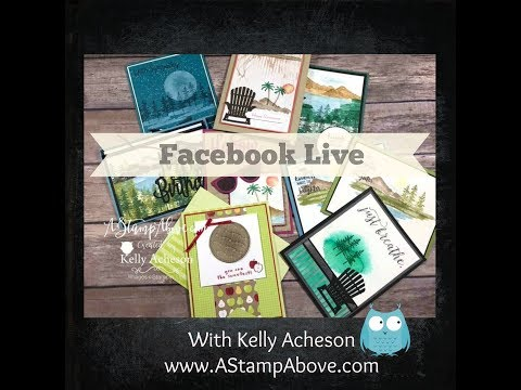 FB Live Featuring the Waterfront Stamp Set