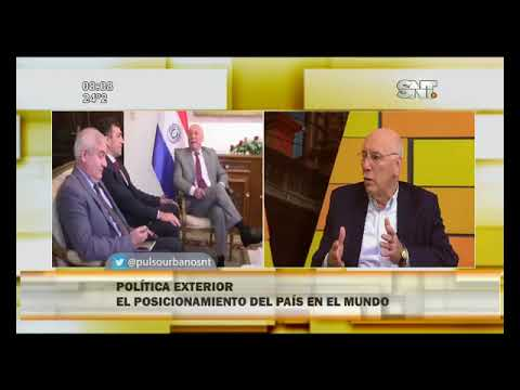 Conversamos del posicionamiento de Paraguay en el mundo