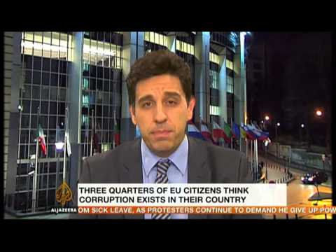 Interview: Corruption in the EU bloc