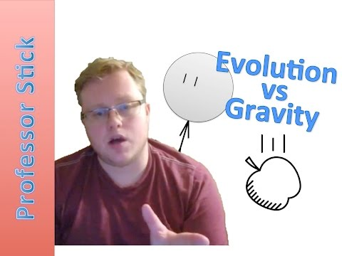 Comparing Evolution to Gravity