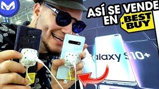 ASI ESTA BEST BUY EL DIA SALIDA GALAXY S10+