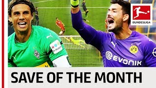 Top 5 Saves in August 2018 - Vote For Your Save Of The Month