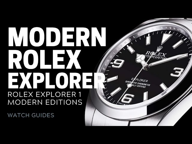 Rolex Explorer I - Modern Editions Review | SwissWatchExpo