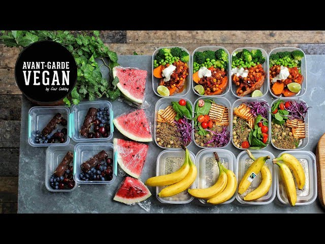 HIGH PROTEIN VEGAN MEAL PREP