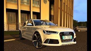 City Car Driving 1.5.5 - Audi RS6 AVANT C7 2016 4.0 TFSI V8   + Download [LINK]   1080p & G27