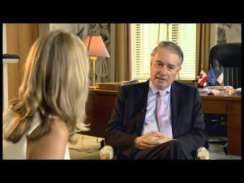 Le bureau du Boss - Son Excellence Philippe Zeller, Ambassadeur de France au Canada