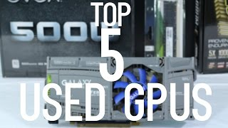 Top 5 USED GPUs/Video Cards under $200 for Gaming (June/July 2016) | OzTalksHW