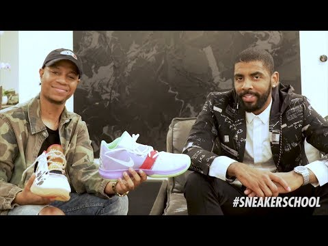 Kyrie Irving Gives COSeezy Exclusive Preview of His New Sneaker Inspired by Toy Story