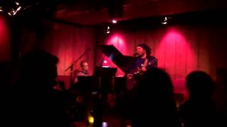 "Valerio Piccolo - ""The Shooting Stars"" live @ Rockwood Music Hall, New York"
