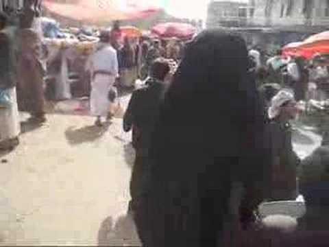 Friday Market - Shibam, Yemen