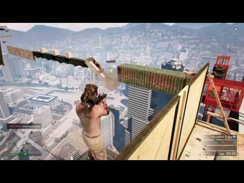 (Gta 5 online) - CONSTRUCTION PARKOUR!!!
