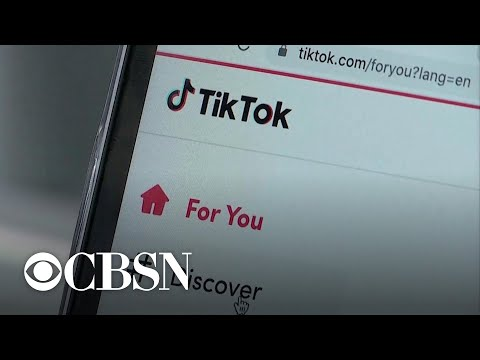 "Trump adminstration ""looking at"" possible ban on TikTok"