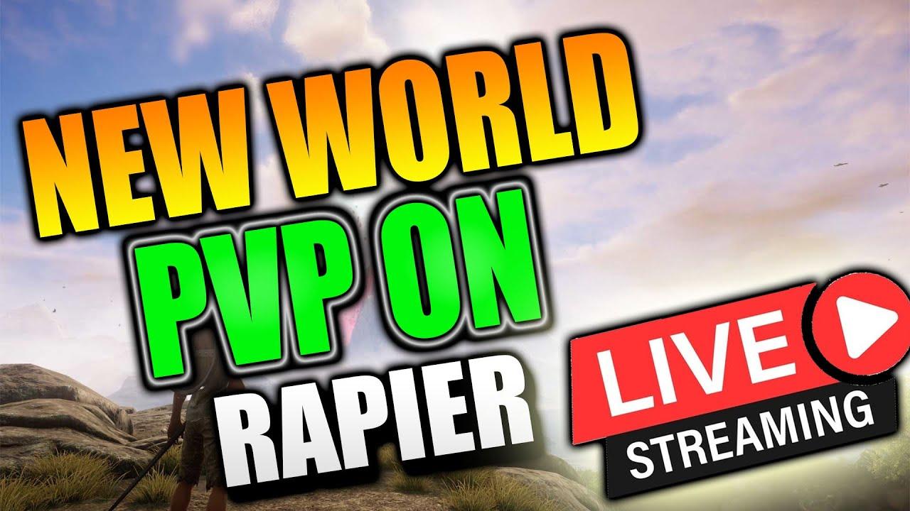 New World LVL 60 SM! RAPIER PATCH NOTES! !Fire !Bow !XP