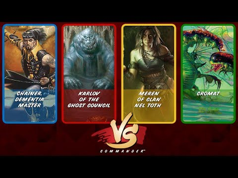 Commander VS S8E8: Chainer vs Karlov vs Meren vs Cromat