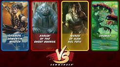 Commander VS S8E8: Chainer vs Karlov vs Meren vs Cromat