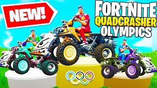 *NEW* FORTNITE QUADCRASHER OLYMPICS In Fortnite Battle Royale!