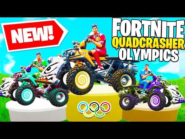 New Fortnite Quadcrasher Olympics In Fortnite Battle Royale