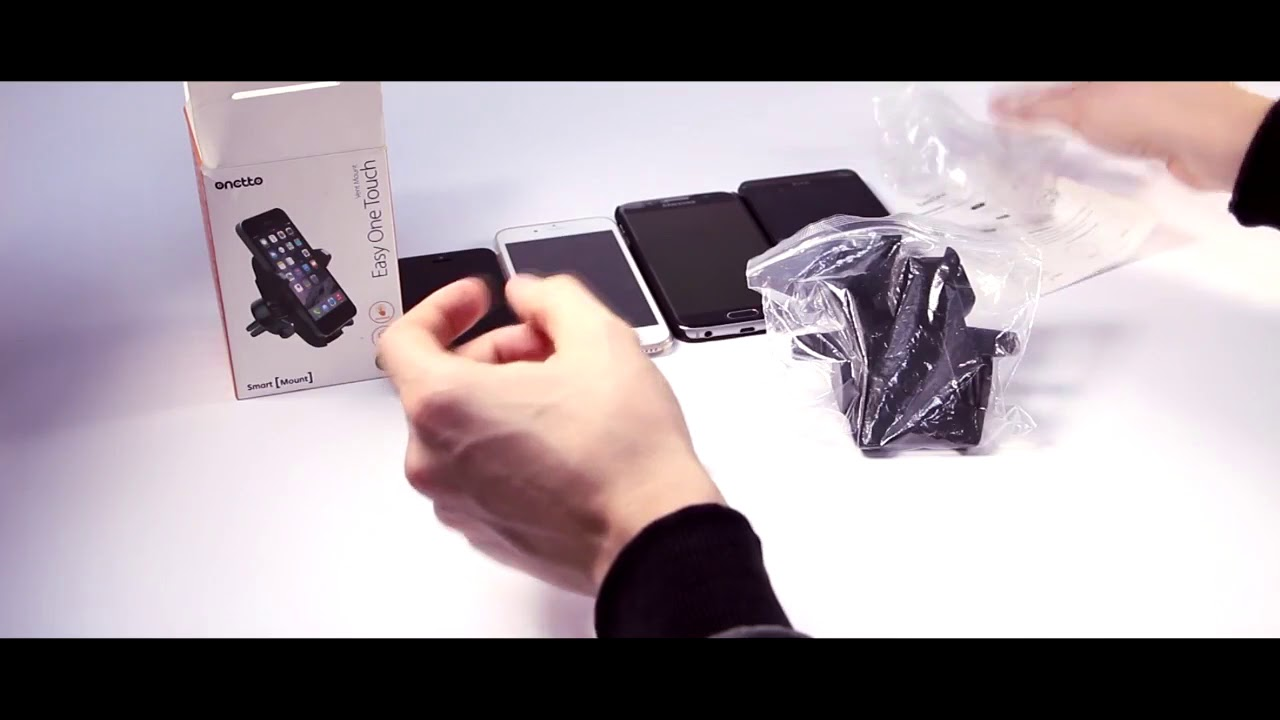 Onetto CD Slot Mount One Touch Mini - YouTube