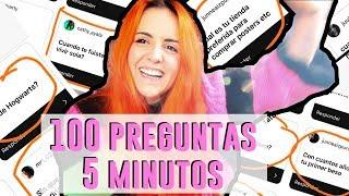 100 PREGUNTAS EN 5 MINUTOS MAL | Andrea Compton