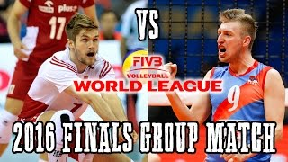 Poland Vs  Serbia   World League Finals Group Match   Full Match All Breaks Remo