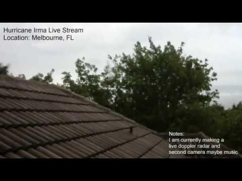 Hurricane Irma Live Stream from Melbourne, FL (day 1)