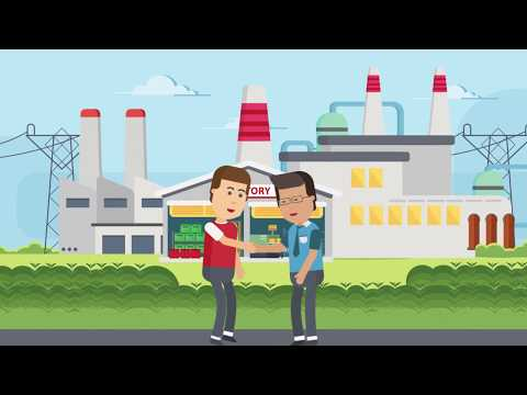 Video Animasi Manufaktur (Telkom Solution)