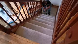 Stairs & landing carpet cleaning in belfast