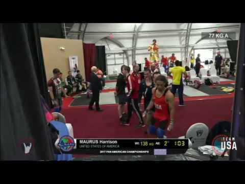 2017 Pan Am Weightlifting 77 kg A Group