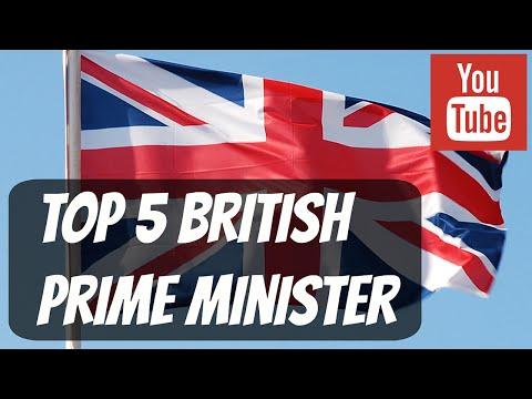 Top 5 British Prime Minister