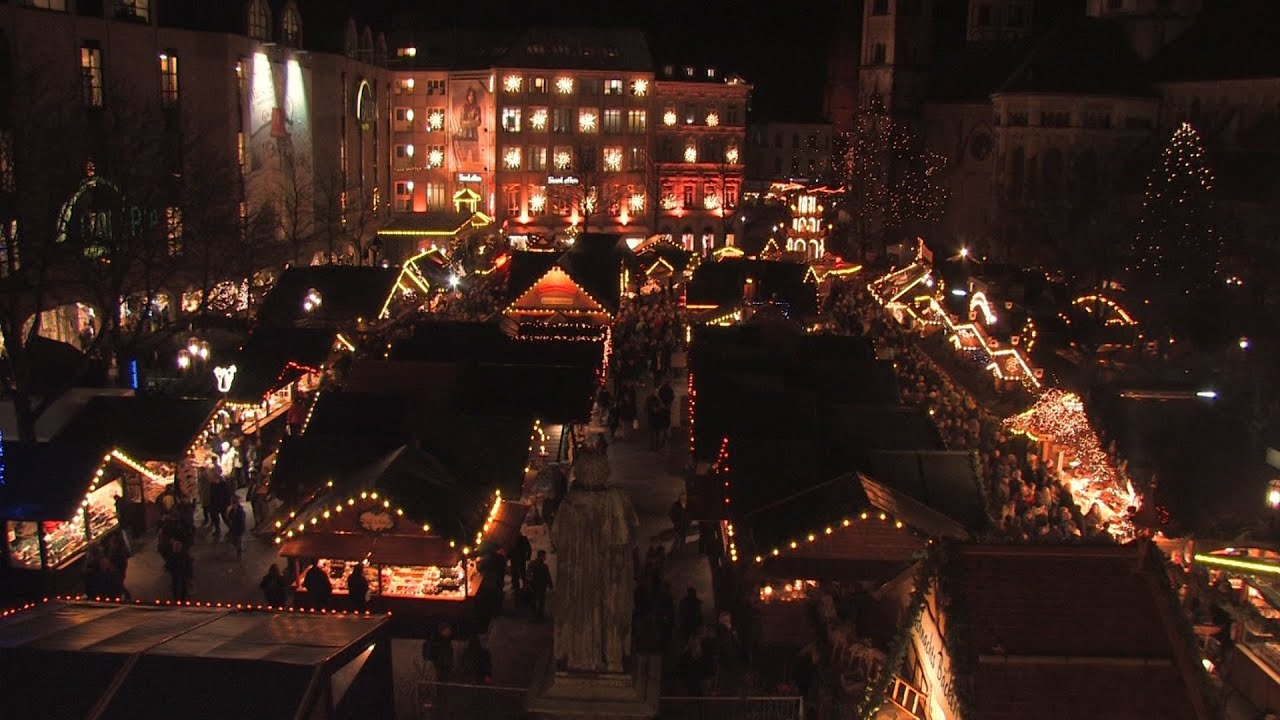 Weihnachtsmarkt Bonn.Der Bonner Weihnachtsmarkt