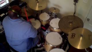 Lisa Knowles & The Brown Singers What He's Done For Me Drum Cover