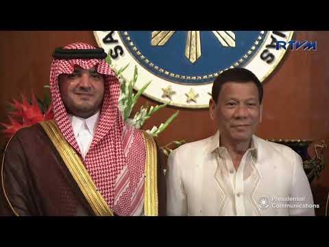 Visit of H.R.H. Prince Abdulaziz Bin Saud bin Naif, Minister of Interior of KSA 3/19/2018