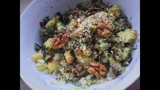 Салат с картофелем и грибами / Potato salad