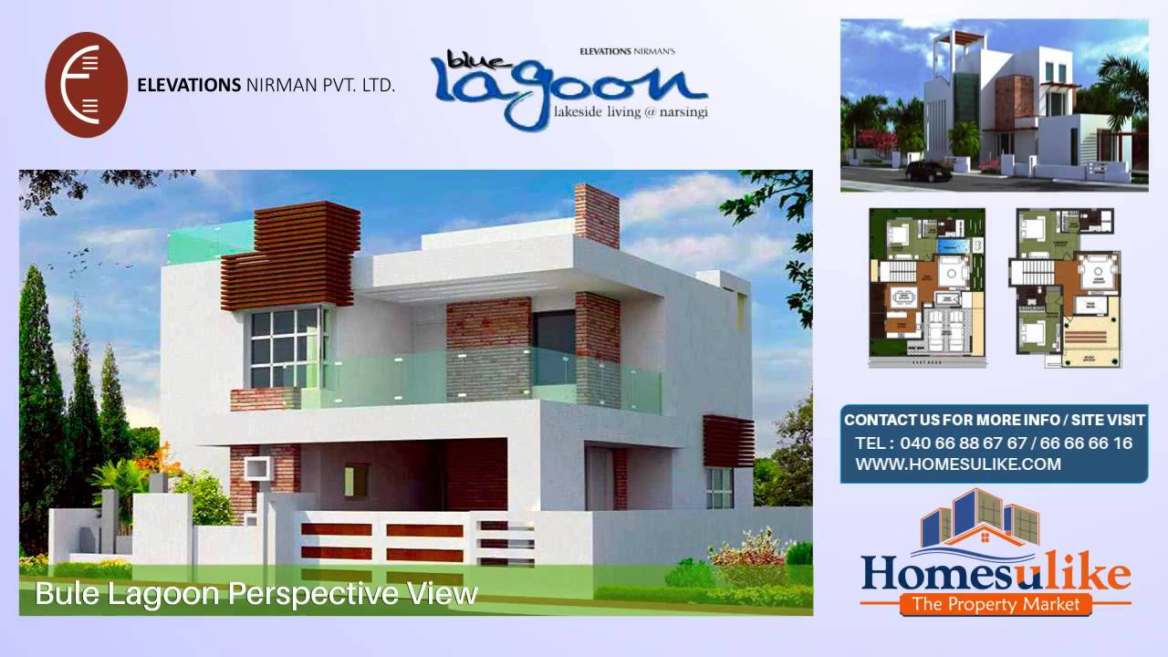 Independent house villa for sale in manikonda at homesulike on blue lagoon