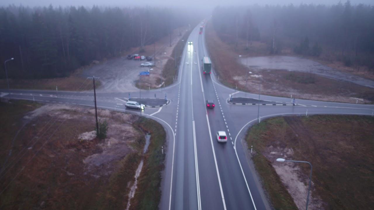 Uus lahendus Kasti ristmikul Tallinna-Pärnu maanteel