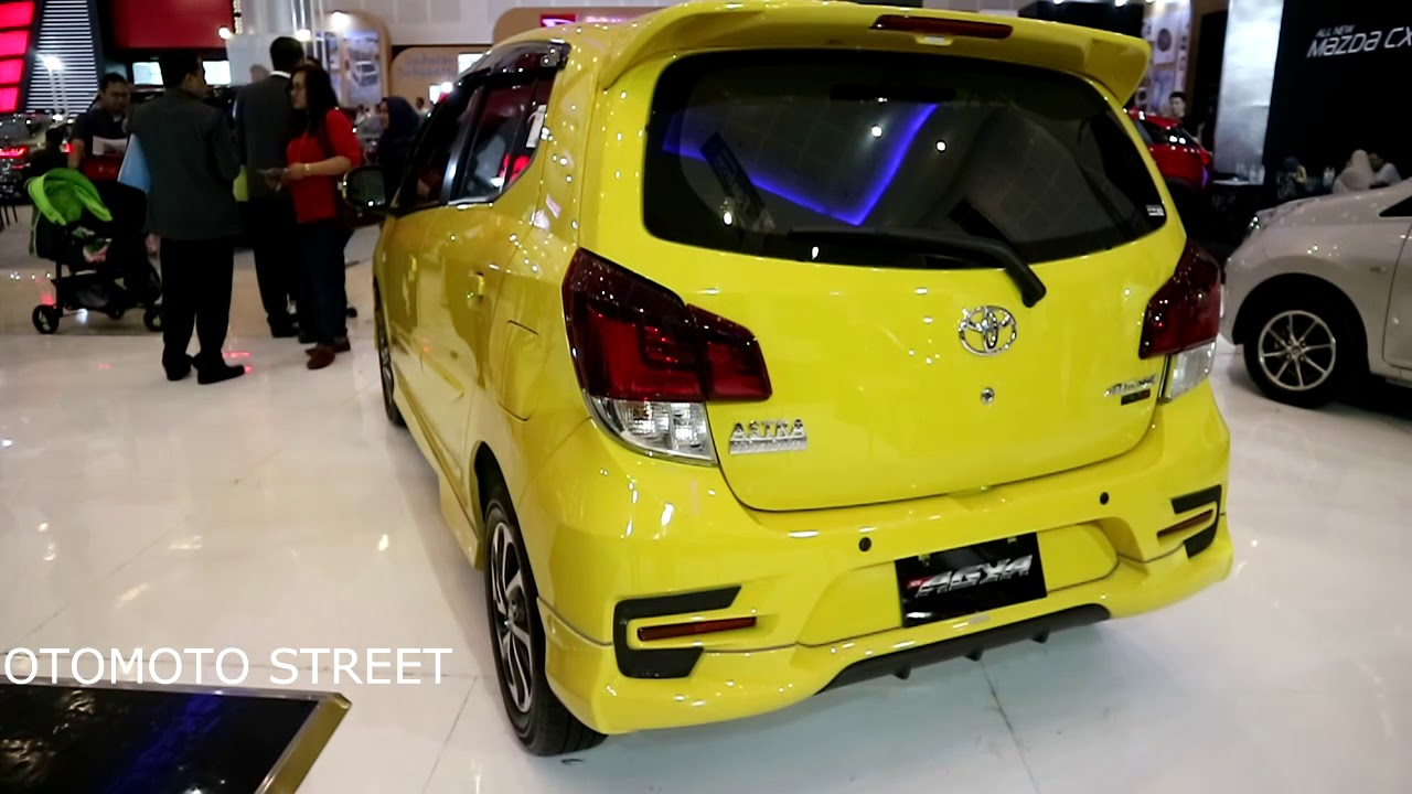 New Toyota Agya TRD S 2018 Yellow Colour YouTube