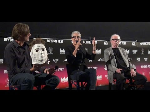 Halloween Beyond Fest complete panel with Jamie Lee Curtis & John Carpenter in HD!