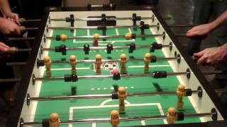 Sevenudust- Day something- Intense foosball game