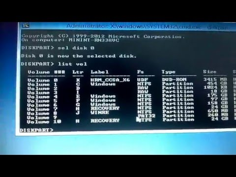 HOW TO FIX PC BOOT CONFIGURATION DATA IS MISSING ERROR IF REPAIR AND REFRESH IS LOCKED