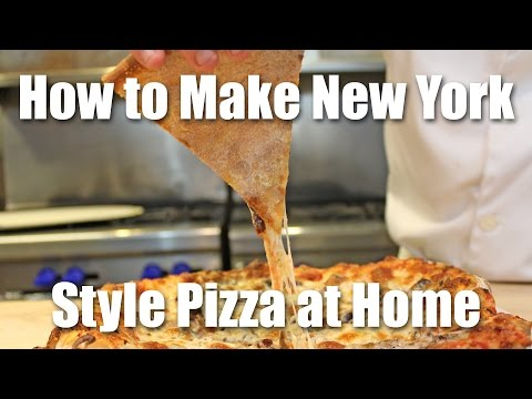 How to Make New York Style Pizza at Home
