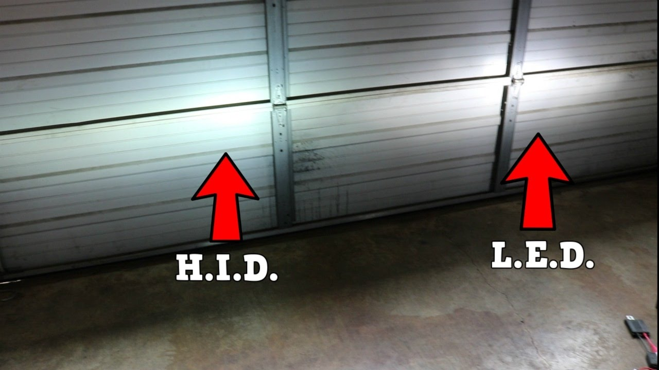 LED vs HID Headlights!!! Which is better? - 2011 Honda Civic Si (FA5) 2018 Civic Type R - YouTube